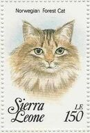 Sierra Leone 1993 Cats of the World x