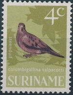 Surinam 1966 Birds d