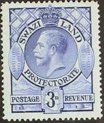 Swaziland 1933 George V d
