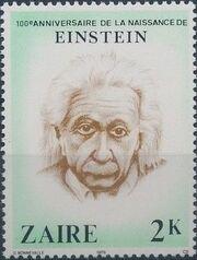 Zaire 1980 100th Anniversary of the Birth of Albert Einstein b