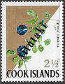 Aitutaki 1972 Flowers from Cook Islands Overprinted AITUTAKI c.jpg