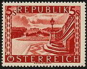 Austria 1946 Landscapes (II) s