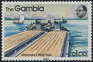 Gambia 1983 River Boats l