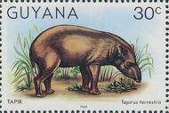 Guyana 1981 Wildlife e