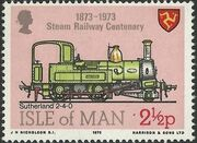 Isle of Man 1973 Centenary of Manx Steam Railroad a