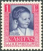 Luxembourg 1930 Prince Charles c