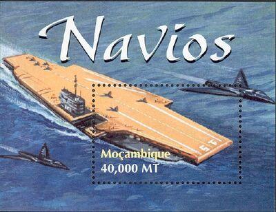 Mozambique 2002 Ships SSa