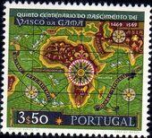 Portugal 1969 500th Anniversary of the Birth of Vasco da Gama c