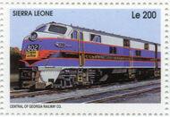 Sierra Leone 1995 Railways of the World b