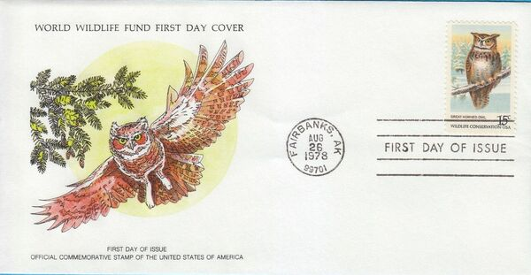 United States of America 1978 Wildlife Conservation Issue FDCd