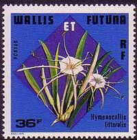 Wallis and Futuna 1978 Flowers d