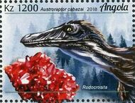 Angola 2018 Wildlife of Angola - Dinosaurs and Minerals e