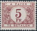Belgium 1949 Postage Due Stamps (Digit on White Background) c.jpg