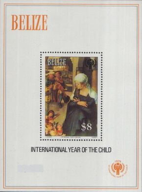 Belize 1980 International Year of the Child SSa