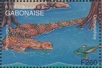 Gabon 1995 Prehistoric Wildlife zf
