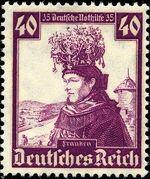 Germany-Third Reich 1935 Regional Costumes j