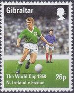 Gibraltar 1998 Football World Cup - France b