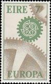 Ireland 1967 Europa-CEPT a