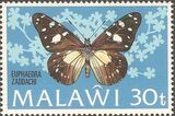 Malawi 1973 Butterflies d