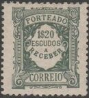 Portugal 1922 Postage Due Stamps (Unicolor) p
