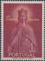 Portugal 1958 Queen St. Isabella and St. Theotonius a