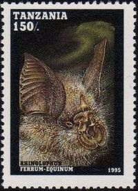 Tanzania 1995 Bats c