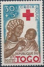 Togo 1959 100th Anniversary of International Red Cross b