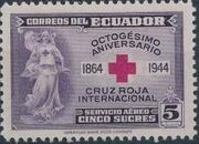 Ecuador 1944 80th Anniversary of the International Red Cross c