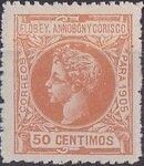 Elobey, Annobon and Corisco 1905 King Alfonso XIII i