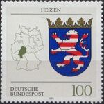Germany, Federal Republic 1993 Coat of Arms of the Federal States of Germany (2nd Group) a
