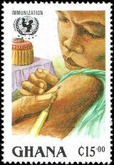 Ghana 1988 UN Universal Immunization Campaign b