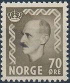 Norway 1956 King Haakon VII d