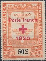 Portugal 1930 Red Cross - 400th Birth Anniversary of Camões b