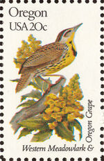 United States of America 1982 State birds and flowers zi