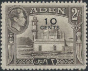 Aden 1951 King George VI Pictorials with New Values b