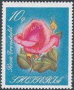 Albania 1967 Roses b