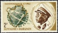 Burundi 1963 Conquest and peaceful use of outer space a