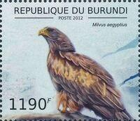 Burundi 2012 Birds of prey f