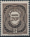 Cameroon 1947 Postage Due Stamps j