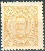 Cape Verde 1893-1895 Carlos I of Portugal b