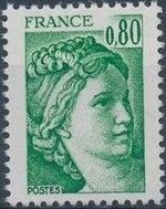 France 1977 Sabine after Jacques-Louis David (1748-1825) (1st Issue) a
