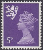 Great Britain - Scotland 1971 Machins c