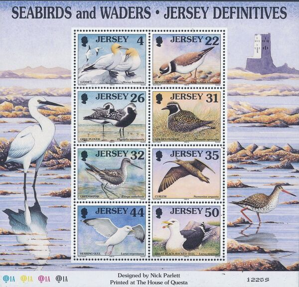 Jersey 1998 Seabirds and waders (3rd Issue) j