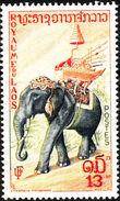 Laos 1958 Elephants g
