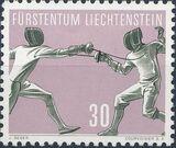 Liechtenstein 1958 Sports b