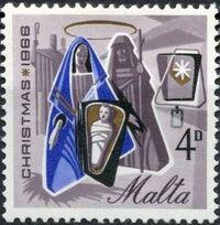Malta 1966 Christmas b