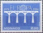 Monaco 1984 Europa a