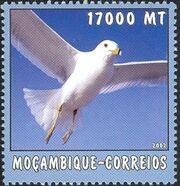 Mozambique 2002 The World of the Sea - Sea Birds 1 f