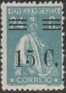 Portugal 1928 Ceres Surcharged j