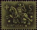 Portugal 1953 Definitives - Medieval Knight a.jpg